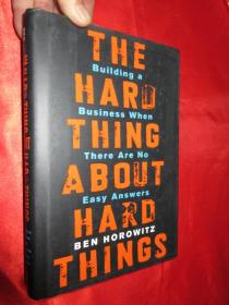 The Hard Thing About Hard Things    (硬精装)   【详见图】