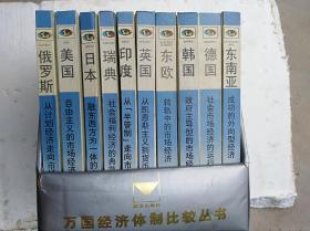 万国经济体制比较丛书:东南亚(全10册,一版一印)                    (大32开精装本,品好,附函套)《111》