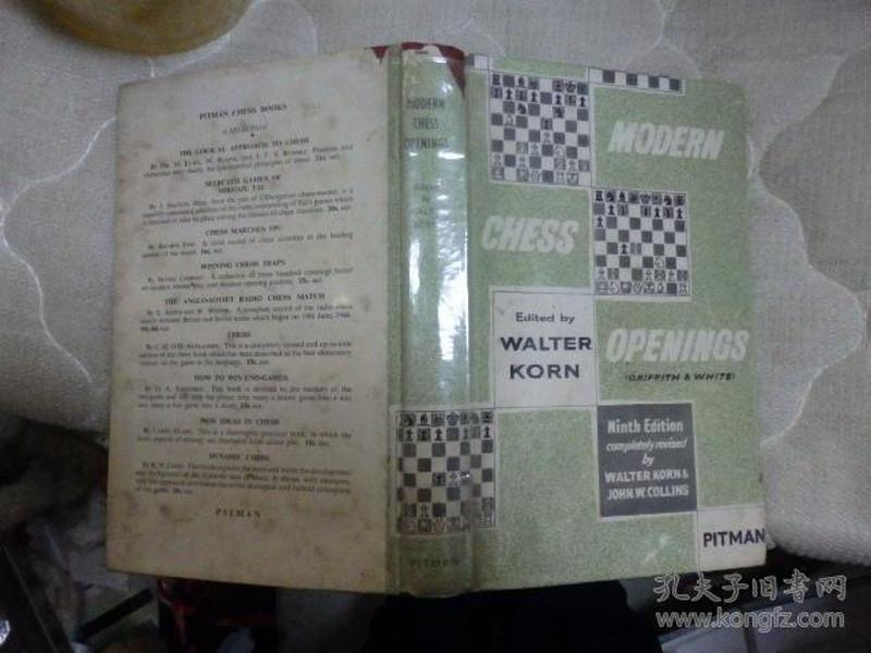 modern chess openings(国际象棋类书籍)