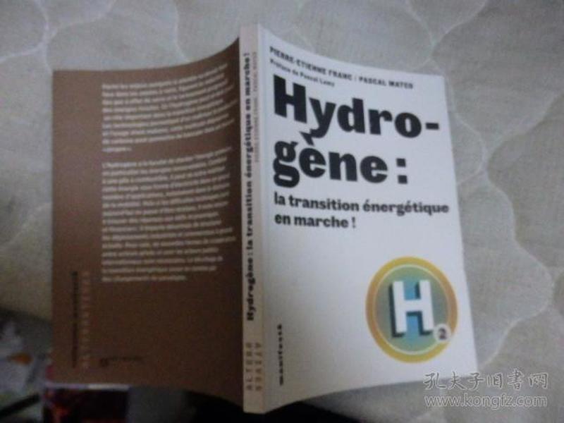 Hydro-gène:la transition  énergé tique en marche!