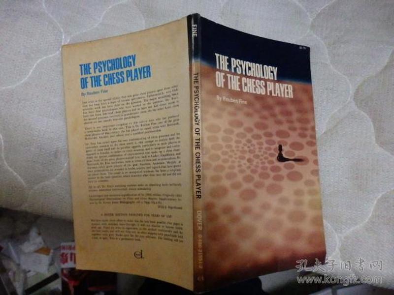 THE PSYCHOLOGY OF THE CHESS PLAYER(国际象棋类书籍)