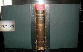 狄更斯著 《尼古拉斯·尼克尔贝》大量黑白插图版,约1900--1940年伦敦出版, 精装