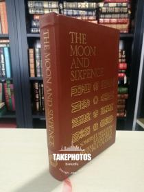 the moon and sixpence 《月亮与六便士》 Somerset Maugham 毛姆经典 easton press 1969年 真皮精装 Paul Gauguin 保罗 高更经典配图