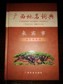 广西地名词典(来宾市政区居民地)