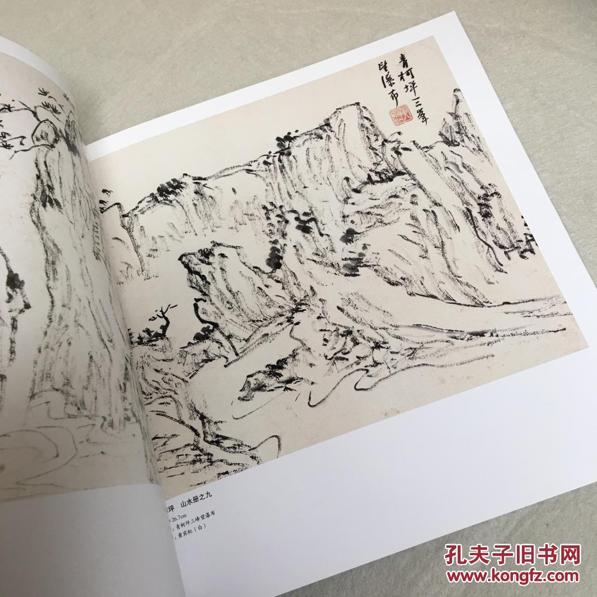 黄宾虹/国画基础入门/绘画技巧/名家画作山水画册畅销书籍图片