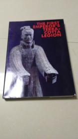 <秦始皇陵兵马俑> 中国旅游出版社88年一版一印 8开厚精装英文画册)