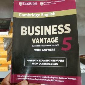 Cambridge English Business 5 Vantage Students Book