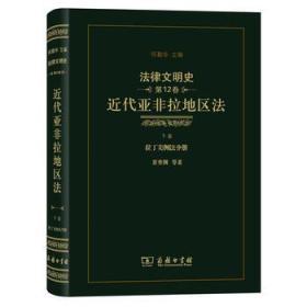 法律文明史(第12卷):近代亚非拉地区法(下卷 拉丁美洲法分册)