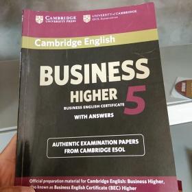 Cambridge English Business 5 Higher Stud...