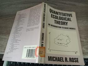 QUANTITATIVE ECOLOGIGAL THEORY
