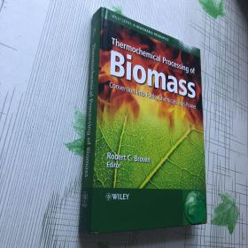 Thermochemical Processing Of Biomass 生物质热化学处理