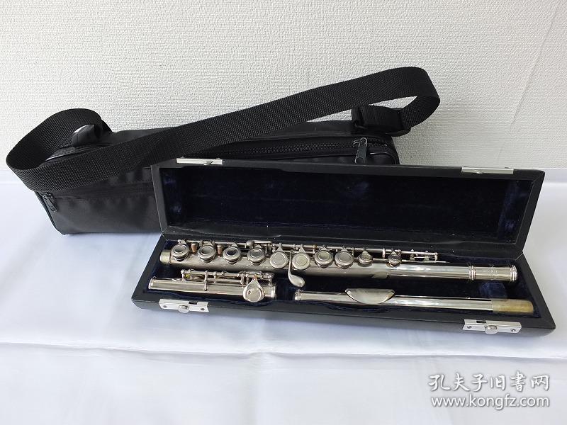 希品 《原盒日系米娜娃(minerva)长笛一件》 品相好 可以正常使用