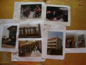 改革开放初期的珠海  照片一组7张 带底片7张