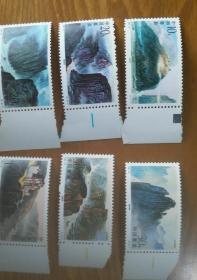 1994——18长江三峡邮票(全六枚)小册
