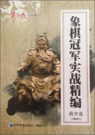 黄少龙经典藏书:象棋冠军实战精编