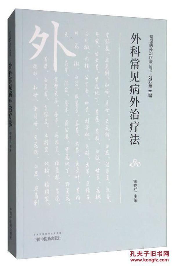 常见病外治疗法丛书:外科常见病外治疗法