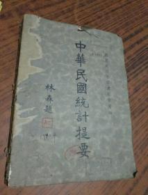 1940年,中华民国统计提要