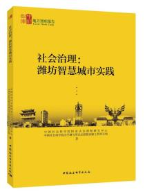 社会治理:潍坊智慧城市实践