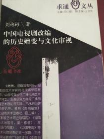 中国电视剧改编的历史嬗变与文化审视
