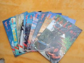 军事世界画刊 (1994年第1/3/4/5/6/7/10/12期,8本合售,16开) 《011》