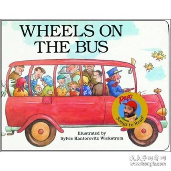 on the Bus公車上的輪子 英文原版-外文原版高清圖片