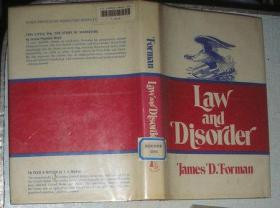 law and disorder 馆藏
