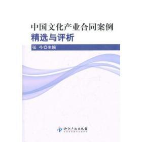 中国文化产业合同案例精选与评析