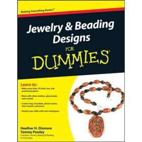 正版包邮n1/Jewelry & Beading Designs For Dummies/9780470291122/N14-8