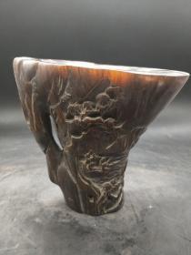 犀牛角杯,重量945g,代理转图可以加价,运费自理。
