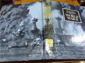 原版英法德意等外文书 ILLUSTERAATED STORY OF WORLD WARⅡ Readers Digest Association 1969年 大16开硬精装