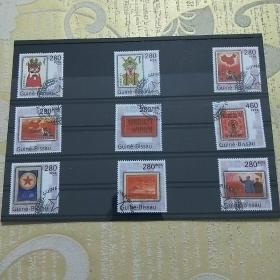 【保真】外国邮票、中国珍稀邮票,九全新,盖销票,几内亚发行保真! 几内亚发行。介绍27届亚洲邮展上的中国珍稀邮票,一共9张。收录了中国十大珍贵邮票。本套邮票保真,内容丰富,外国邮票。对于邮票爱好者来说收藏和欣赏都是不错的选择。(信销票、盖销票)。此套保真支持鉴定,又有面值,收藏和欣赏的角度都高