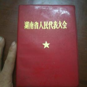 湖南省人民代表大会(记事本空白丿
