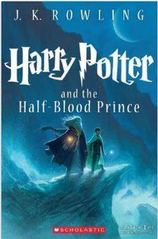 英文原版Harry Potter and the Half-Blood Prince