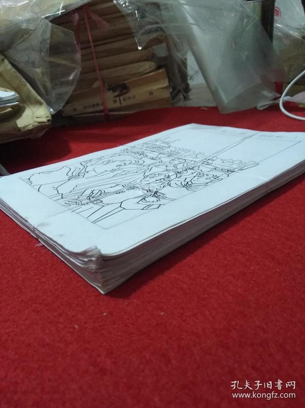河北美术出版社画稿等数种