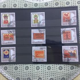 【保真】外国邮票、中国珍稀邮票,九全新,盖销票,几内亚发行保真! 几内亚发行。介绍27届亚洲邮展上的中国珍稀邮票,一共9张。收录了中国十大珍贵邮票。本套邮票保真,内容丰富,外国邮票。对于邮票爱好者来说收藏和欣赏都是不错的选择。此套保真支持鉴定,又有面值,收藏和欣赏的角度都高。。
