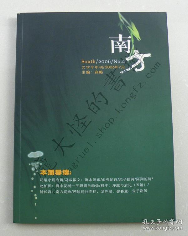 《南方》文学半年刊(二期合售:总第2、6期)