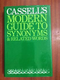 外文书店库存书无瑕疵 英国进口英语同义词词典A Dictionary of Synonyms CASSELL'S  MODERN  GUIDE TO SYNONYMS&RELATED WORD
