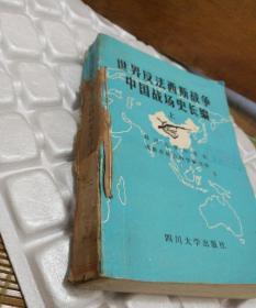 世界反法西斯战争中国战场史长编 存上册 646页