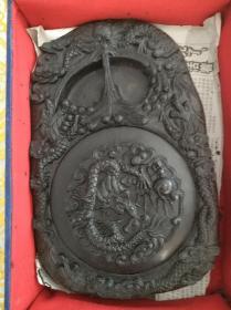 产于山西的中国澄泥砚一方带盒,中国四大名砚之一
