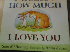 Guess How Much I Love You 猜猜我有多爱你 英文原版[Board book]