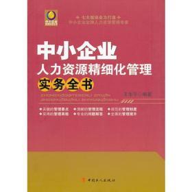 中小企业人力资源精细化管理实务全书