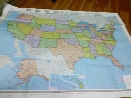 2009年美国地图