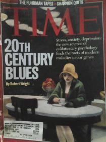 时代杂志1995.8  TIME Aug,1995