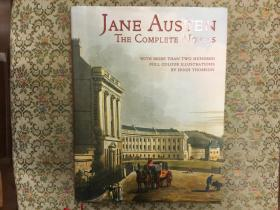 Jane Austen: The Complete Novels (Collector's Library Editions in Colour)简·奥斯汀小说全集,16开精装,200余幅Hugh Thomson全彩绝美插图,720页4磅余2,九五品,孔网唯一,值得收藏