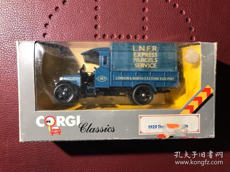 """英国进口车模 Corgi """"全球限量""""1985年产 1:43"""