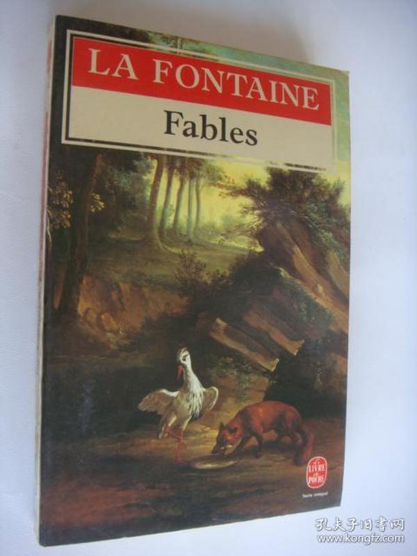 LA FONTAINE:Fables 《拉封丹寓言》法文原版 书口三面刷黄