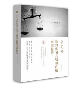 公司法审判实务与疑难问题案例解析