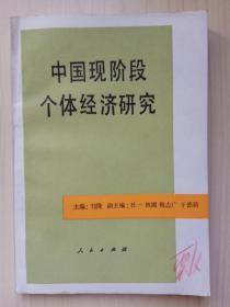 中国现阶段个体经济研究