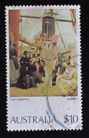 澳大利亚邮票-----汤姆罗伯茨作品(信销票)