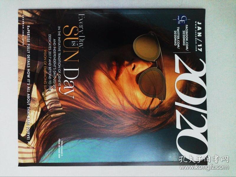 20/20 Magazine 2017/01 眼镜时尚外文原版杂志